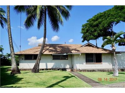 Honolulu Single Family Home For Sale: 1357 Naulu Place