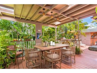Kailua Single Family Home In Escrow Showing: 620 Auwai Street #B