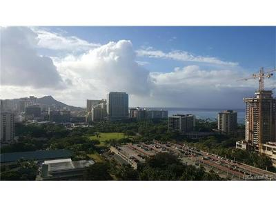 Honolulu Condo/Townhouse For Sale: 1920 Ala Moana Boulevard #2209
