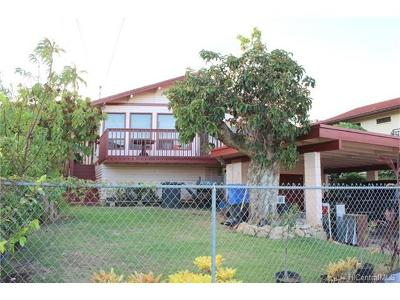 Single Family Home For Sale: 94-1018 Kahuailani Street