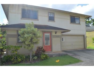 Waipahu Single Family Home For Sale: 94-222 Kupueu Place
