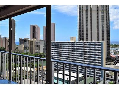 Hawaii County, Honolulu County Condo/Townhouse For Sale: 475 Atkinson Drive #1708