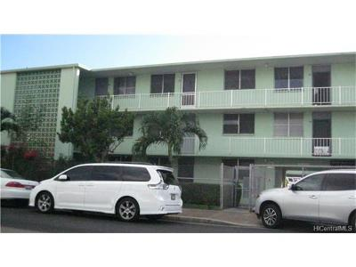 Honolulu Condo/Townhouse For Sale: 775 McNeill Street #213B
