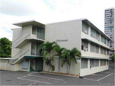 Honolulu HI Condo/Townhouse For Sale: $275,000