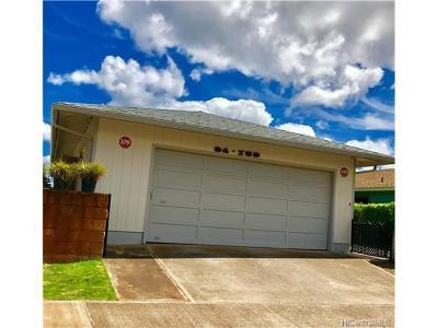Waipahu Single Family Home For Sale: 94-759 Kaaka Street