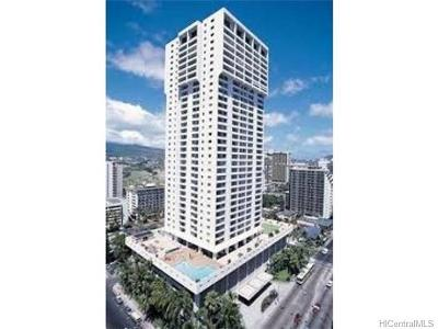 Hawaii County, Honolulu County Rental For Rent: 2240 Kuhio Avenue #2501