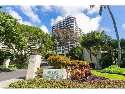 Honolulu County Condo/Townhouse For Sale: 6770 Hawaii Kai Drive #208