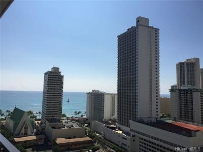 Hawaii County, Honolulu County Rental For Rent: 201 Ohua Avenue #1910-I