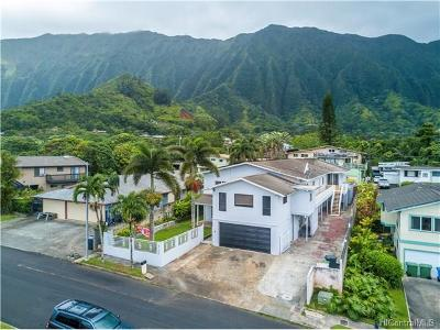 Single Family Home For Sale: 47-544 Hakuhale Street