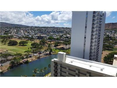 Honolulu, Kailua, Waimanalo, Honolulu, Kaneohe Rental For Rent: 300 Wai Nani Way #2013