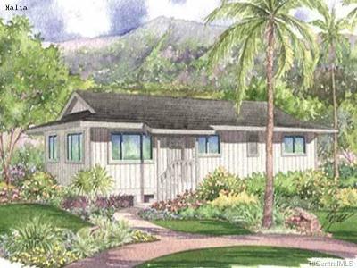 Wahiawa Single Family Home For Sale: 1124 Kilani Avenue #9