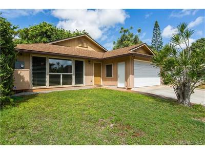 Mililani Single Family Home For Sale: 95-245 Hoeu Place