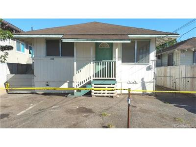 Honolulu HI Single Family Home In Escrow Showing: $588,000
