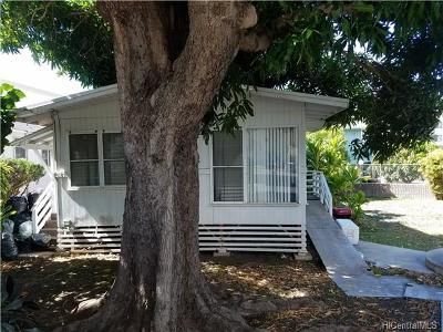 Honolulu Single Family Home For Sale: 2947 Kamakini Street