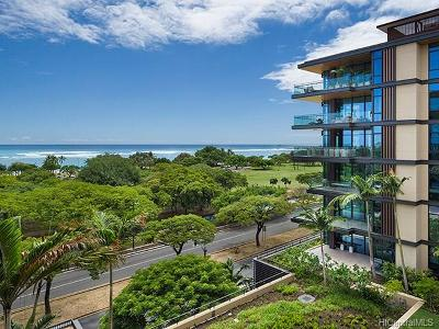 Honolulu County Condo/Townhouse For Sale: 1388 Ala Moana Boulevard #5603