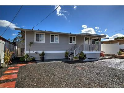 Waipahu Single Family Home For Sale: 94-068 Leowaena Street