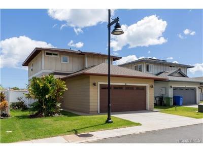 kapolei Single Family Home For Sale: 1101 Kukulu Street #20