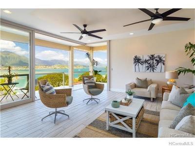 Single Family Home For Sale: 44-656a Kaneohe Bay Drive