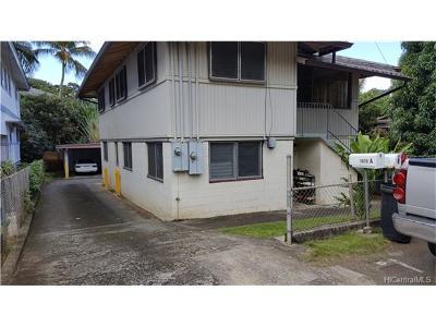 Honolulu Single Family Home For Sale: 1615 Merkle Street