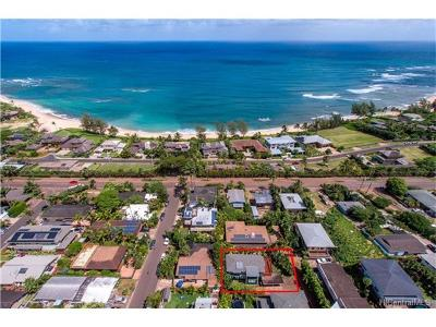 Haleiwa Single Family Home In Escrow Showing: 58-305 Kaunala Place