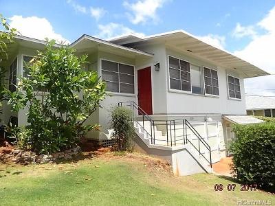 Honolulu Rental For Rent: 4209 Sierra Drive