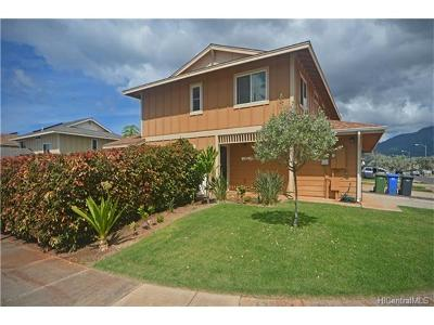 Waianae Single Family Home In Escrow Showing: 87-1735 Wehiwehi Street