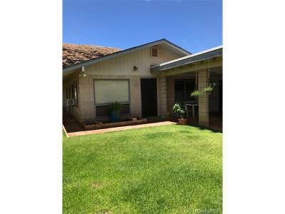 Waianae Single Family Home In Escrow Showing: 86-289 Hokukea Place