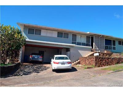 Honolulu Rental For Rent: 1644 Kaikuahine Street #B