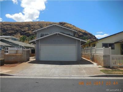 Central Oahu, Diamond Head, Ewa Plain, Hawaii Kai, Honolulu County, Kailua, Kaneohe, Leeward Coast, Makakilo, Metro Oahu, N. Kona, North Shore, Pearl City, Waipahu Single Family Home For Sale: 86-205 Leihua Street