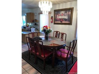 Single Family Home For Sale: 94-443 Hamau Street