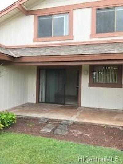 Aiea Condo/Townhouse For Sale: 98-1739 Kaahumanu Street #B