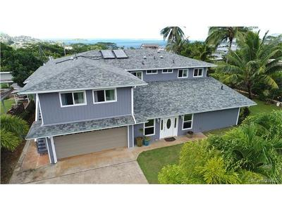 Kaneohe Single Family Home For Sale: 45-221 Nohonani Place