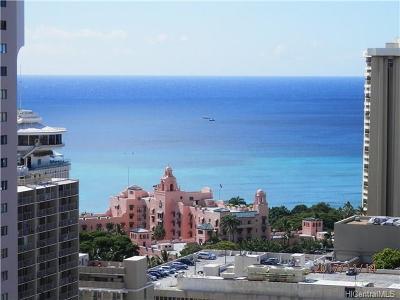 Hawaii County, Honolulu County Condo/Townhouse For Sale: 2211 Ala Wai Boulevard #P6