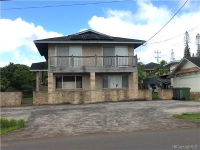 Wahiawa Single Family Home In Escrow Showing: 730 Olive Avenue