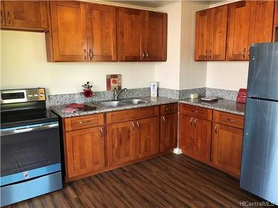 Wahiawa Single Family Home In Escrow Showing: 2066a Puu Place