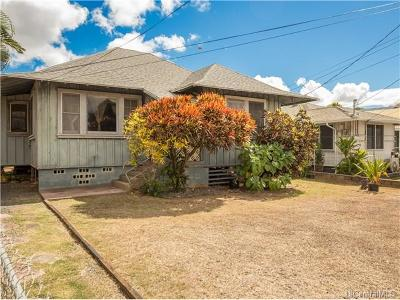 Pearl City Single Family Home In Escrow Showing: 98-229 Kaulike Drive
