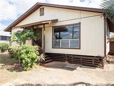 Pearl City Single Family Home In Escrow Showing: 98-233 Kaulike Drive
