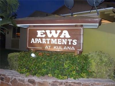 Ewa Beach Condo/Townhouse In Escrow Showing: 91-613 Kulana Place #R6