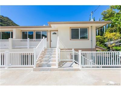 Honolulu Single Family Home For Sale: 2325 Ahe Street