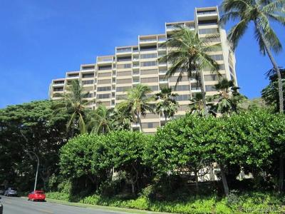Honolulu County Condo/Townhouse For Sale: 555 Hahaione Street #3C