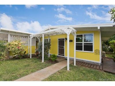 Waianae Single Family Home In Escrow Showing: 85-930 Imipono Street