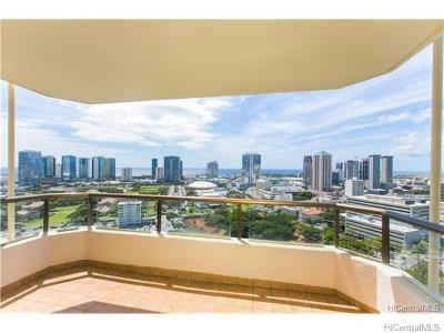 Honolulu Condo/Townhouse For Sale: 1221 Victoria Street #2701