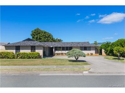 Single Family Home For Sale: 4502 Kolohala Street