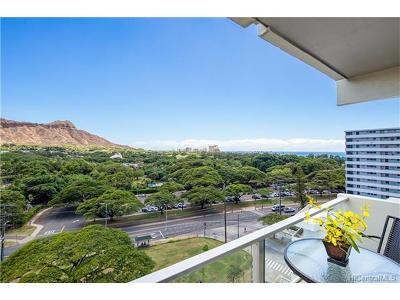 Honolulu HI Condo/Townhouse Sold: $825,000