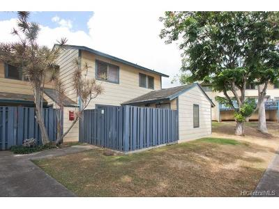 Kapolei Condo/Townhouse In Escrow Showing: 92-928 Welo Street #52
