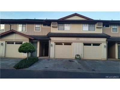 Mililani Mauka Condo/Townhouse In Escrow Showing: 95-949 Ukuwai Street #1402