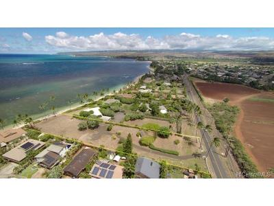 Honolulu County Residential Lots & Land For Sale: 67-435 Waialua Beach Road #W-1