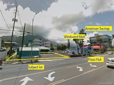 Honolulu County Residential Lots & Land In Escrow Showing: 45-1106 Kamehameha Highway