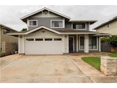 Waipahu Single Family Home In Escrow Showing: 94-1008 Haula Street