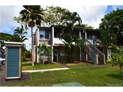 Mililani Condo/Townhouse For Sale: 95-670 Hanile Street #A201